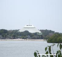 Space Mountain and Seven Seas Lagoon