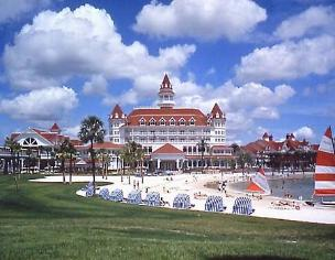 Exterior Grand Floridian Resort and Beach