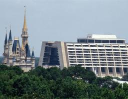 Contemporary Resort and The Castle